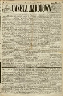 Gazeta Narodowa. 1877, nr13