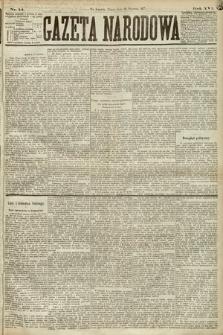 Gazeta Narodowa. 1877, nr14
