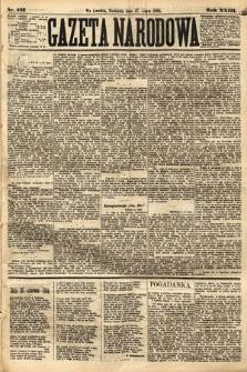 Gazeta Narodowa. 1884, nr173