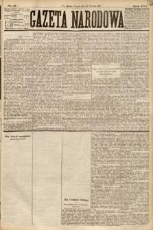 Gazeta Narodowa. 1877, nr17