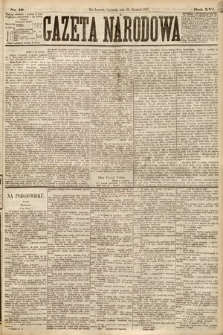 Gazeta Narodowa. 1877, nr19