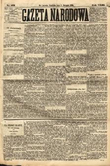 Gazeta Narodowa. 1884, nr179