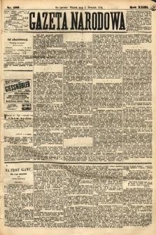 Gazeta Narodowa. 1884, nr180