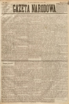 Gazeta Narodowa. 1877, nr25