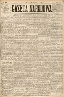 Gazeta Narodowa. 1877, nr34