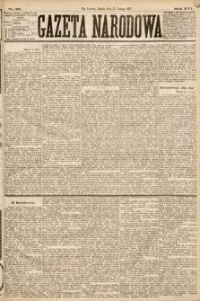 Gazeta Narodowa. 1877, nr38