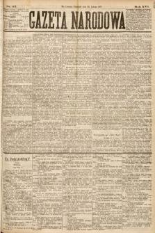Gazeta Narodowa. 1877, nr42