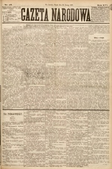 Gazeta Narodowa. 1877, nr43