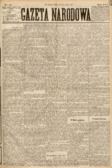 Gazeta Narodowa. 1877, nr44
