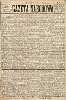 Gazeta Narodowa. 1877, nr45