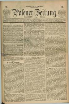Posener Zeitung. Jg.72 [i.e.76], [№] 89 (17 April 1869) + dod.