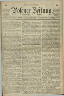 Posener Zeitung. Jg.72 [i.e.76], [№] 90 (18 April 1869) + dod.