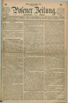 Posener Zeitung. Jg.72 [i.e.76], [№] 93 (23 April 1869) + dod.