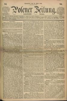 Posener Zeitung. Jg.72 [i.e.76], [№] 94 (24 April 1869) + dod.