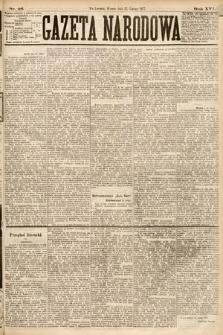 Gazeta Narodowa. 1877, nr46