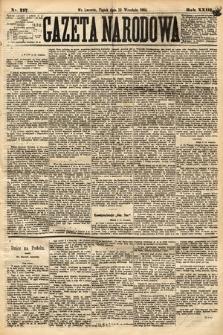 Gazeta Narodowa. 1884, nr217