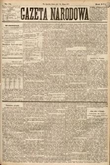 Gazeta Narodowa. 1877, nr71