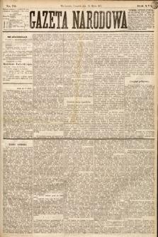 Gazeta Narodowa. 1877, nr72