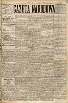 Gazeta Narodowa. 1877, nr77