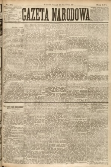 Gazeta Narodowa. 1877, nr83