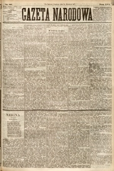 Gazeta Narodowa. 1877, nr86