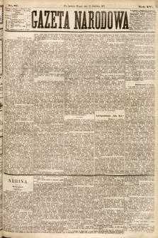 Gazeta Narodowa. 1877, nr87