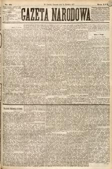 Gazeta Narodowa. 1877, nr89