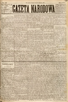 Gazeta Narodowa. 1877, nr95