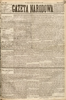 Gazeta Narodowa. 1877, nr98