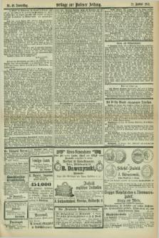 Posener Zeitung. Jg.78 [i.e.82], Beilage zur Posener Zeitung Nr. 49 (21 Januar 1875)