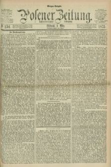 Posener Zeitung. Jg.78 [i.e.82], Nr. 154 (3 März 1875) - Morgen=Ausgabe. + dod.