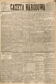 Gazeta Narodowa. 1877, nr134