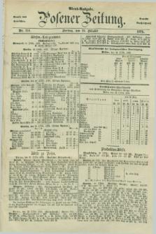 Posener Zeitung. Jg.78 [i.e.82], Nr. 759 (29 Oktober 1875) - Abend=Ausgabe.