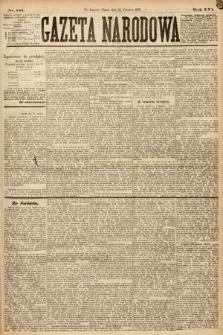 Gazeta Narodowa. 1877, nr141