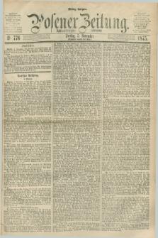 Posener Zeitung. Jg.78 [i.e.82], Nr. 776 (5 November 1875) - Mittag=Ausgabe.