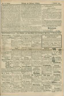 Posener Zeitung. Jg.78 [i.e.82], Beilage zur Posener Zeitung Nr. 781 (7 November 1875)