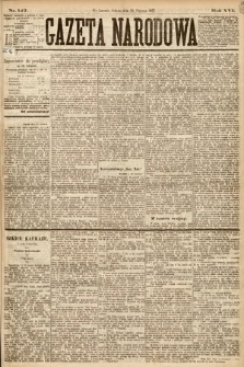 Gazeta Narodowa. 1877, nr142