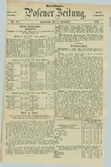 Posener Zeitung. Jg.78 [i.e.82], Nr. 798 (13 November 1875) - Abend=Ausgabe.