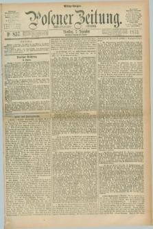 Posener Zeitung. Jg.78 [i.e.82], Nr. 857 (7 Dezember 1875) - Mittag=Ausgabe.