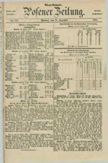 Posener Zeitung. Jg.78 [i.e.82], Nr. 891 (20 Dezember 1875) - Abend=Ausgabe.