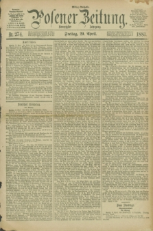 Posener Zeitung. Jg.90, Nr. 274 (20 April 1883) - Mittag=Ausgabe.