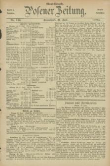 Posener Zeitung. Jg.91, Nr. 429 (21 Juni 1884) - Abend=Ausgabe.