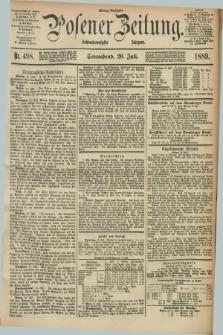 Posener Zeitung. Jg.96, Nr. 498 (20 Juli 1889) - Mittag=Ausgabe.