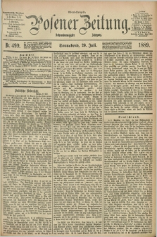 Posener Zeitung. Jg.96, Nr. 499 (20 Juli 1889) - Abend=Ausgabe.