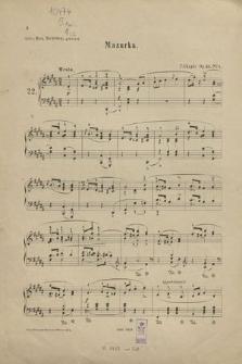 Mazurka : Op. 33 No. 1