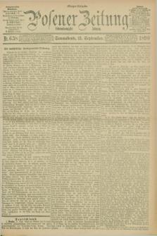 Posener Zeitung. Jg.97, Nr. 638 (13 September 1890) - Morgen=Ausgabe. + dod.