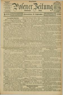 Posener Zeitung. Jg.97, Nr. 639 (13 September 1890)