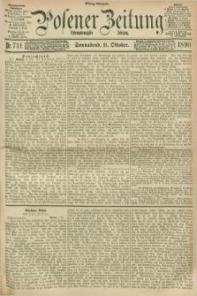 Posener Zeitung. Jg.97, Nr. 711 (11 Oktober 1890) - Mittag=Ausgabe.