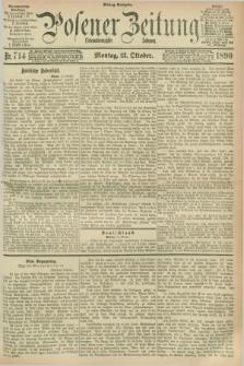 Posener Zeitung. Jg.97, Nr. 714 (13 Oktober 1890) - Mittag=Ausgabe.