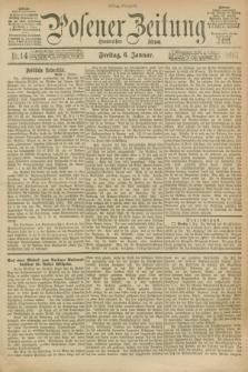 Posener Zeitung. Jg.100, Nr. 14 (6 Januar 1893) - Mittag=Ausgabe.